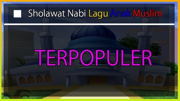 Sholawat Nabi Lagu Anak Muslim screenshot 1