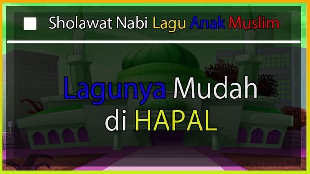 Sholawat Nabi Lagu Anak Muslim screenshot 2