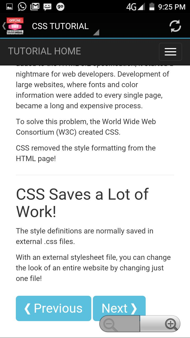 CSS TUTORIAL OFFLINE APP for Android - APK Download
