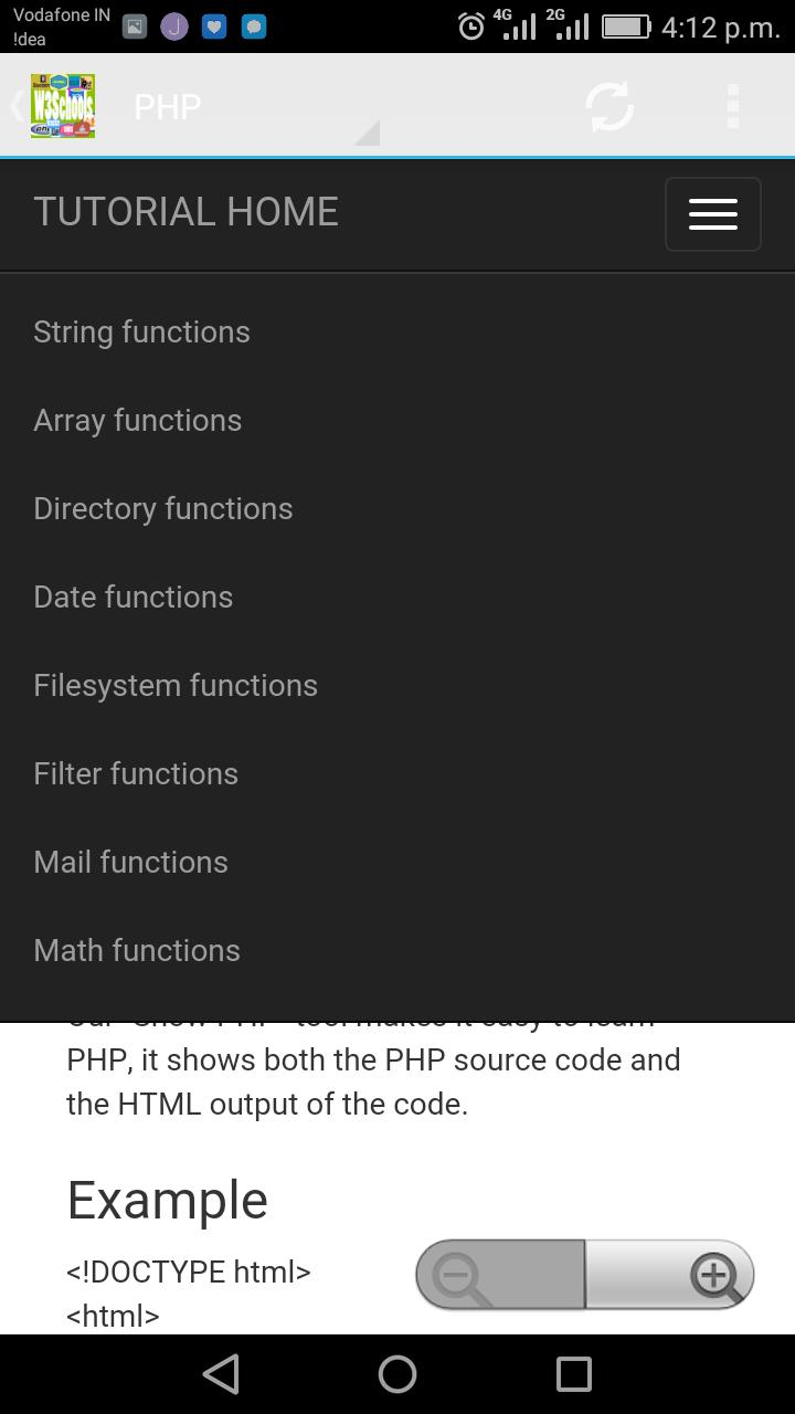 W3Schools Offline FullTutorial for Android - APK Download