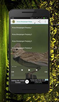 Masteran Kicau Branjangan screenshot 3