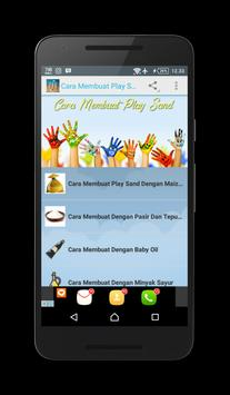 Cara Membuat Play Sand screenshot 1