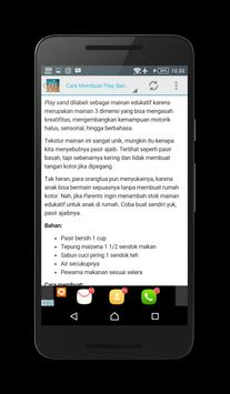 Cara Membuat Play Sand screenshot 2