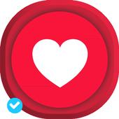 Wallpaper Love Valentine 2018 icon