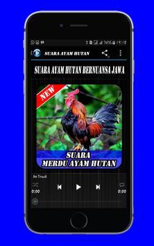 Suara Merdu Ayam Hutan Mp3 apk screenshot