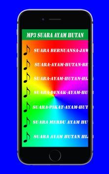 Suara Merdu Ayam Hutan Mp3 poster