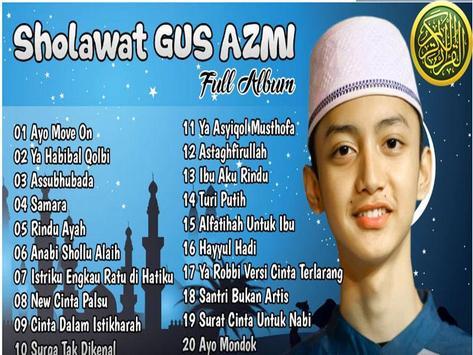 Sholawat Gus Azmi Lengkap Terbaru 2018 screenshot 3