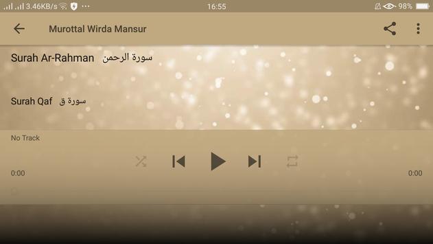 Murottal Wirda Mansur screenshot 18