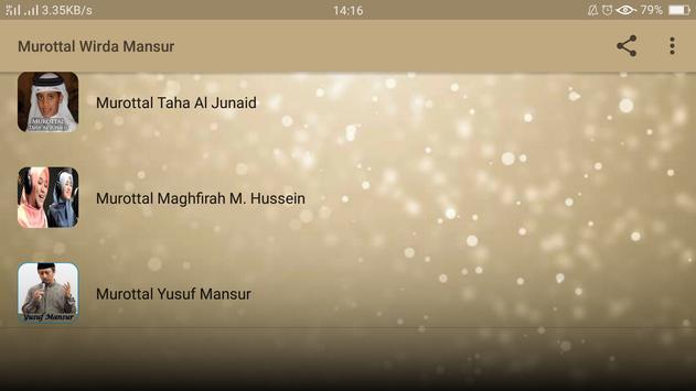 Murottal Wirda Mansur screenshot 1