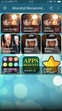 Murottal Muzammil Hasballah apk screenshot