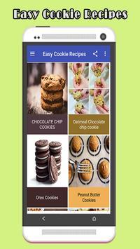 Easy Cookie Recipes screenshot 1