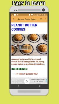 Easy Cookie Recipes screenshot 7
