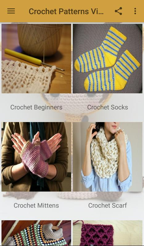 900+ Crochet Knitting Videos - Easy Patterns Guide APK تحميل - مجاني ...