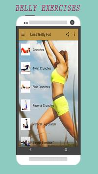 Belly Fat Burning Workouts screenshot 1