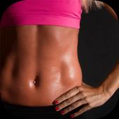 Female Workout Exercise - Bikini Body icon