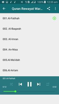 Warsh Quran Recitation screenshot 3