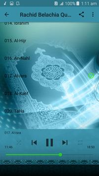Sheikh Rachid Bellachia (رشيد بلعشية) Quran MP3. screenshot 5
