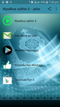 Riyadus Salihin MP3 Kashi na Biyar - Part 5 apk screenshot