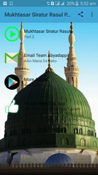 Mukhtasar Siratur Rasul Part 2 - Sheik Jafar mp3 apk screenshot