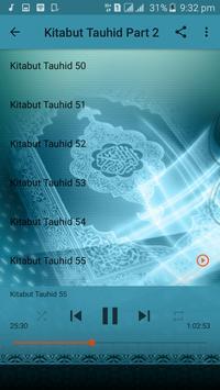 Kitabut Tauheed mp3 Sheik Jaafar - Part 2 of 3 apk screenshot