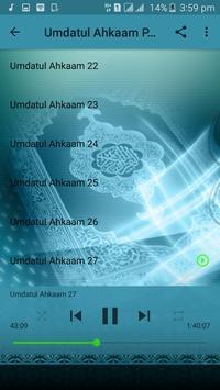 Umdatul Ahkaam Offline Sheik Jaafar - Part 1 of 3 screenshot 5