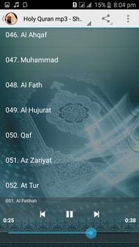 Full Quran mp3 Sudais Offline screenshot 7