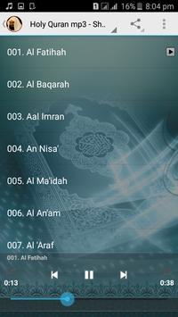 Full Quran mp3 Sudais Offline screenshot 4
