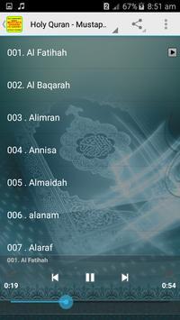 Mustapha Gharbi Offline Quran MP3 screenshot 3