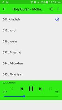 Mohammed Al Barrak Full Quran MP3 Offline apk screenshot