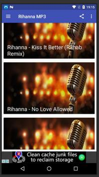 Rihanna Songs MP3 screenshot 2