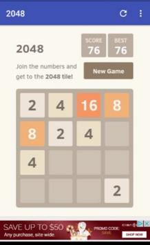 2048 Master screenshot 1