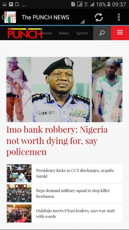 Nigerian Dailies Screenshot 14