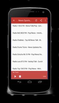 Switzerland Radio FM free 2018 screenshot 3