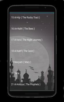 Audio Quran Muhammad jibreel screenshot 3