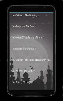Audio Quran Muhammad jibreel screenshot 1