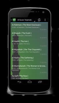 Quran Korean Translation Mp3 apk screenshot