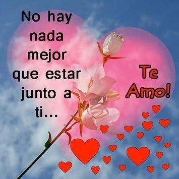Imágenes con Frases de Amor poster