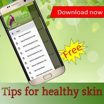 Tips for healthy skin screenshot 3