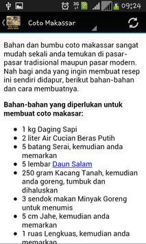 Resep Kuliner Sulawesi Selatan screenshot 1