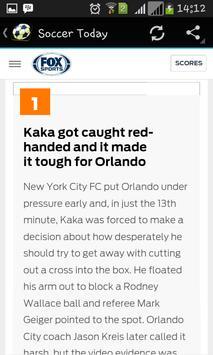 Soccer News apk screenshot