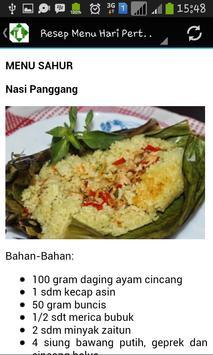 Resep Menu Harian Ramadhan apk screenshot