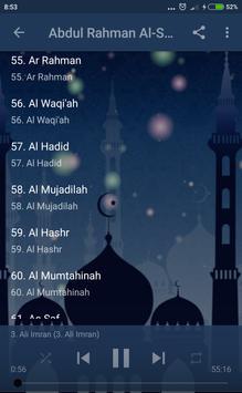 Abdul Rahman Al Sudais Full Quran apk screenshot