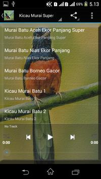 Suara Burung Murai Batu Mp3 screenshot 1