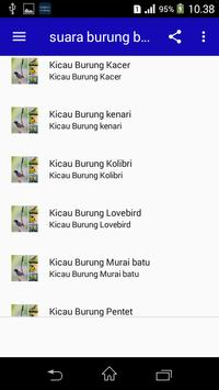 Top Suara Burung Berkicau Offline screenshot 1