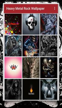 Heavy Metal Rock Wallpaper screenshot 1