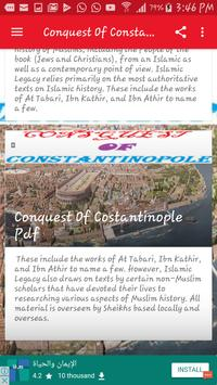 Conquest Of Constantinople MP3 apk screenshot