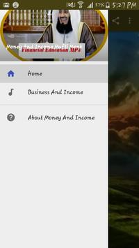 Money And Income Mufti Menk apk screenshot