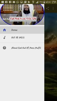 Get Out Of Mess Mufti Menk MP3 apk screenshot