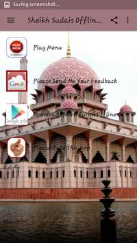 Sheikh Sudais Offline MP3 apk screenshot