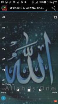 40 Hadith Translation MP3 apk screenshot